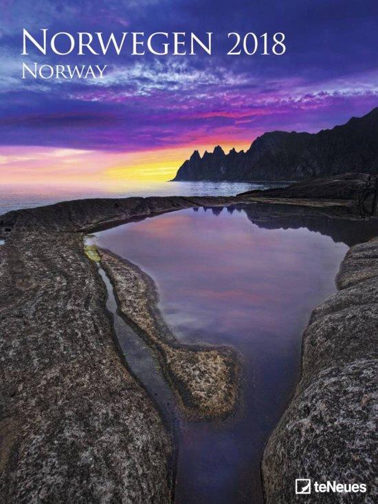 Noorwegen Norway Posterkalender 2018