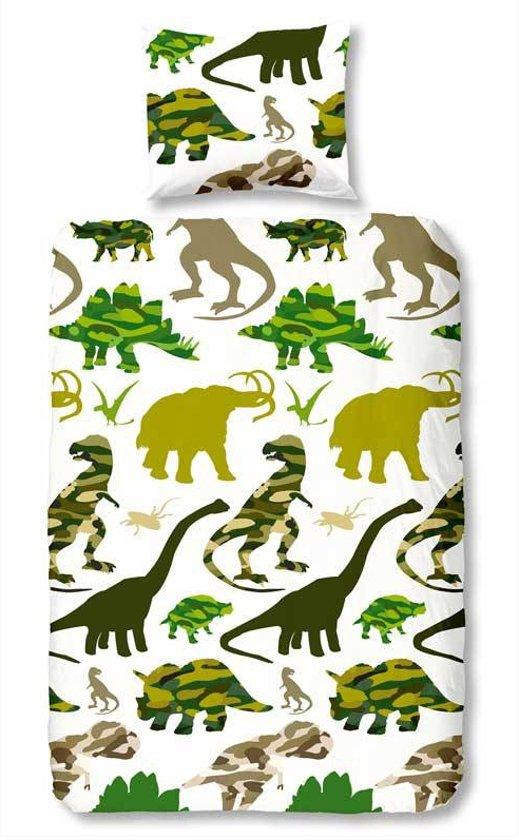 bol com   Dinosaurus dekbedovertrek   Groen   eenpersoons (140×200  220 cm + 1 sloop)