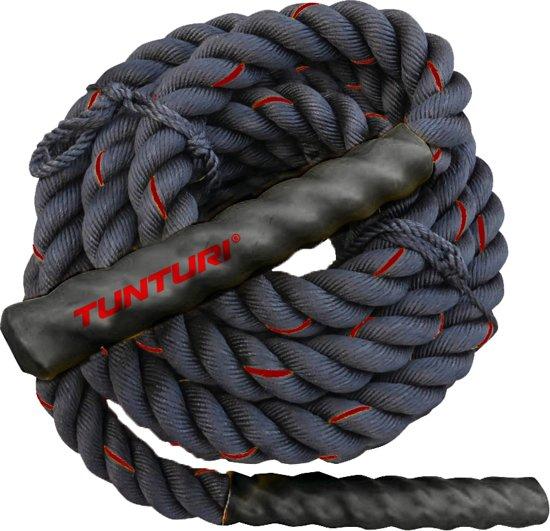 Tunturi Battle Rope - Fitness Rope - Crossfit Rope - 15 meter
