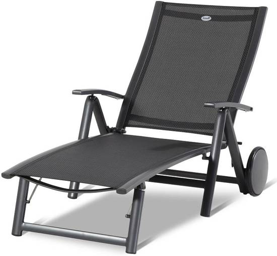 hartman belcampo aluminium ligbed lounger. Black Bedroom Furniture Sets. Home Design Ideas