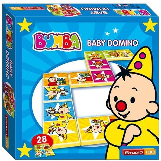 Afbeelding van het spel Studio 100 Bumba baby dominospel