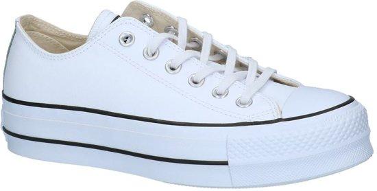 bol   witte lage geklede sneakers converse chuck taylor all stars