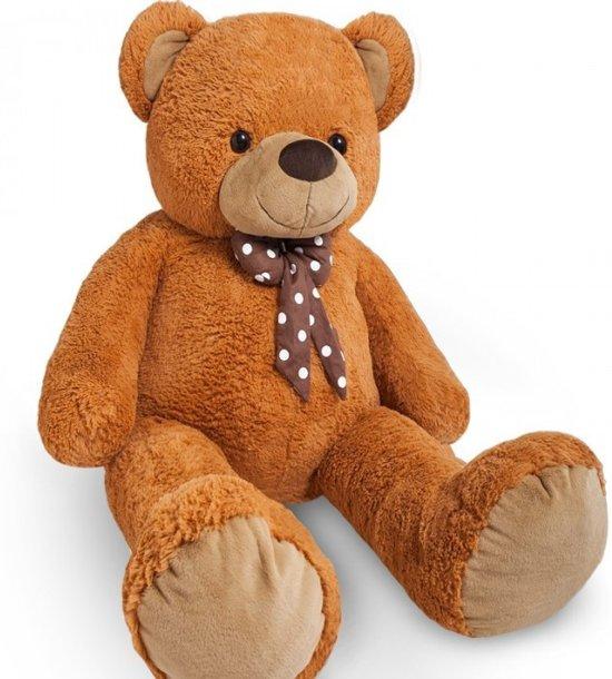 Grote Knuffelbeer 2 Meter.Bol Com Grote Knuffelbeer Teddybeer Knuffel Pluche 1