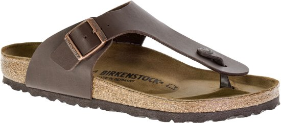 Birkenstock Ramses Normaal Heren Slippers - Brown