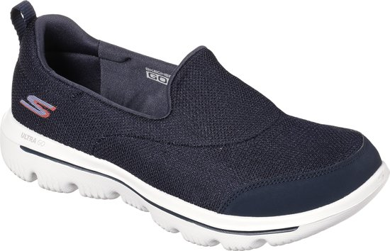 Skechers Go Walk Evolution Ultra Reach Instappers Dames Black White Maat 42
