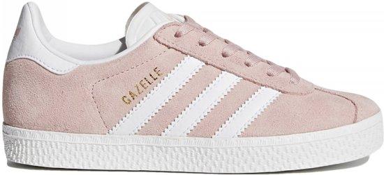 3306ffd6b04 bol.com | Adidas Meisjes Sneakers Gazelle C - Roze - Maat 29