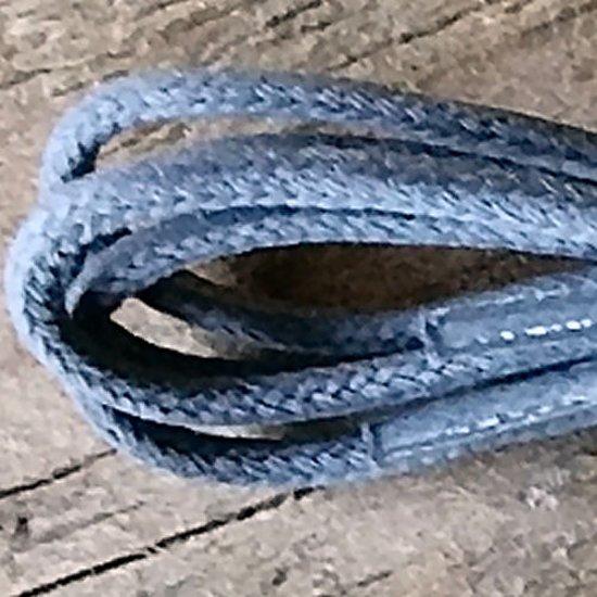 1 Paar grijze veters 60cm Italiaanse Schoenveters voor moderne klassieke merkschoenen