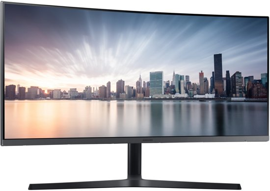 Samsung C34H890 34'' Ultra-Wide Quad HD LED Gebogen Zwart computer monitor