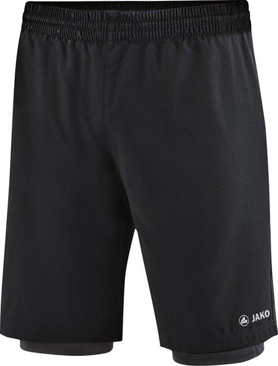 Jako 2-in-1 Short - Shorts  - zwart - M