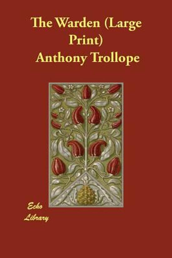 the warden trollope anthony gilmour robin