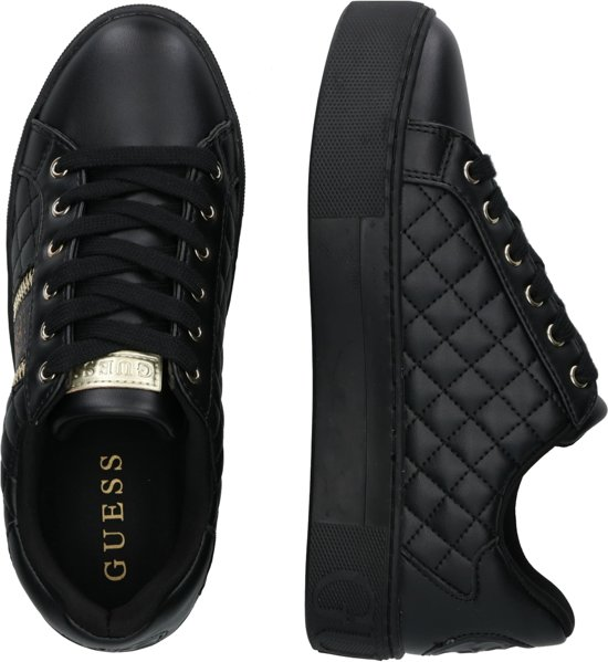 | Guess Mayby Dames Sneakers Maat 37 Zwart