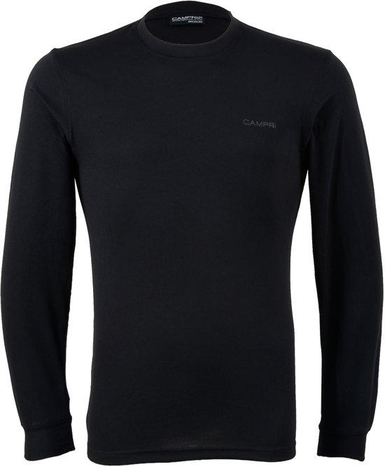 Campri Thermoshirt lange mouw - Sportshirt - Heren - Maat L - Zwart