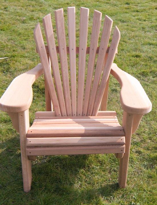 Houten Tuinstoelen Tweedehands.Bol Com 24designs Red Cedar Single Seat 1 Persoons Lounge