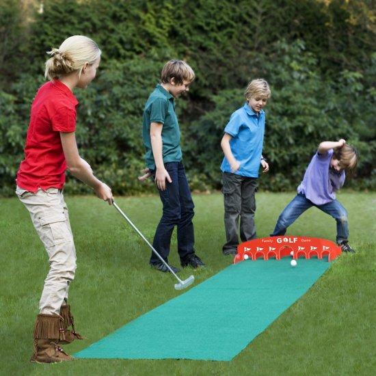 Thumbnail van een extra afbeelding van het spel Family Golf Spel Golfset