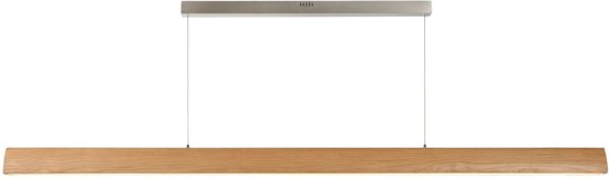 Lucide SYTZE - Hanglamp - LED Dimb. - 1x48W 3000K - Licht hout