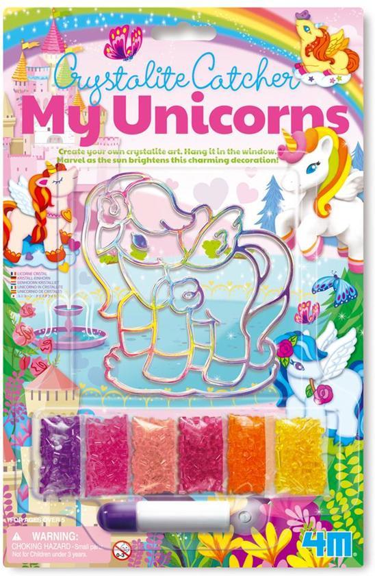 4M - My Unicorns - Eenhoorn kristalliet