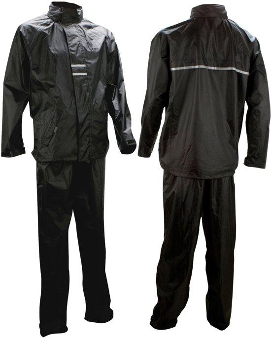Ralka Regenpak - Volwassenen - Unisex - Maat XL - Zwart