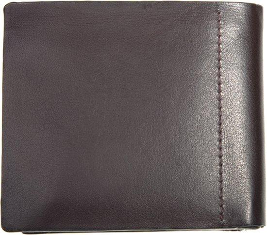 | Leather Design Stichless heren portemonnee