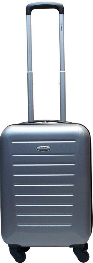 Benzi handbagage koffer Gomera S zilver cabin trolley