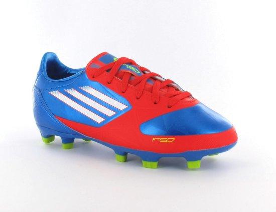 Adidas Voetbalschoenen Blauw Rood