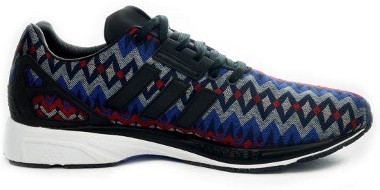 adidas zx flux Rood e Blauw