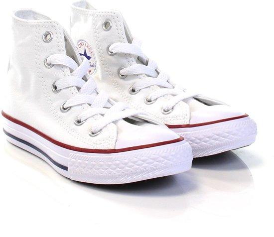 Converse Meisjes Sneakers Chuck Taylor All Star Hi Kids - Wit - Maat 33