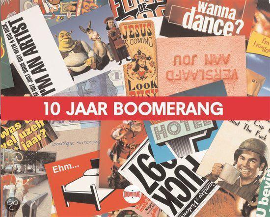 Cover van het boek '10 jaar Boomerang'