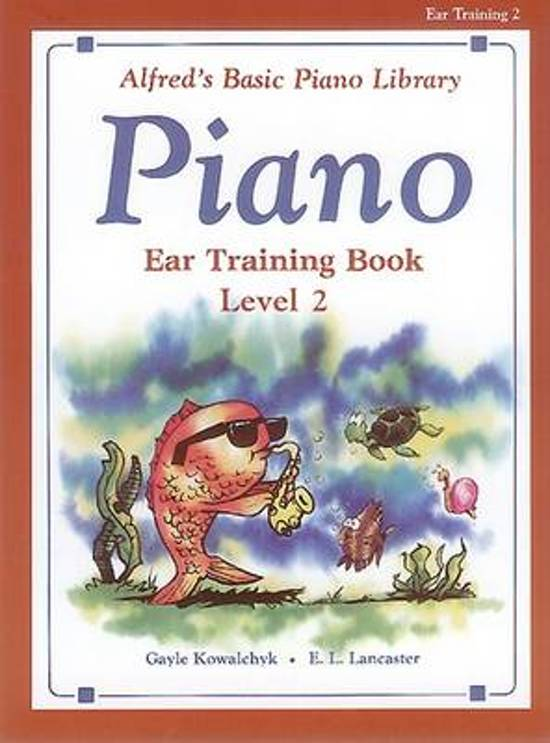 Alfred's Basic Piano Library Ear Training, Bk 2