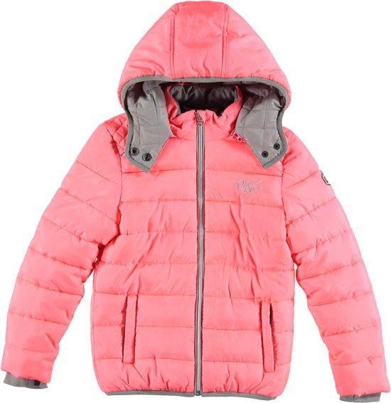 Bolcom Retour Jeans Meisjes Winterjas Neon Coral Maat 122128