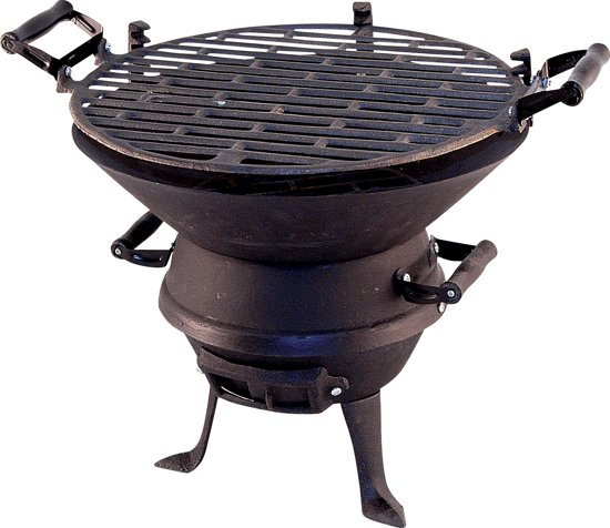 Potkachel Houtskoolbarbecue - 35 cm - Gietijzer