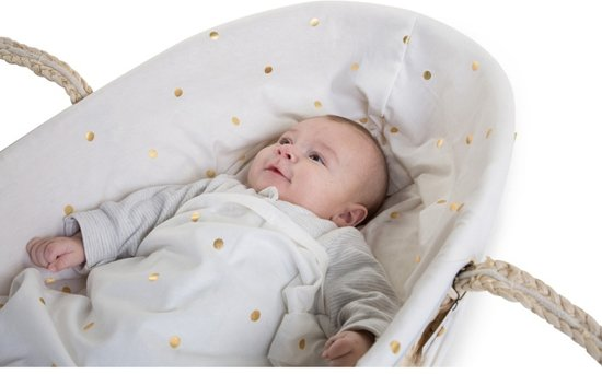 CHILDWOOD - MOSES MAND BEKLEDING JERSEY GOLD DOTS