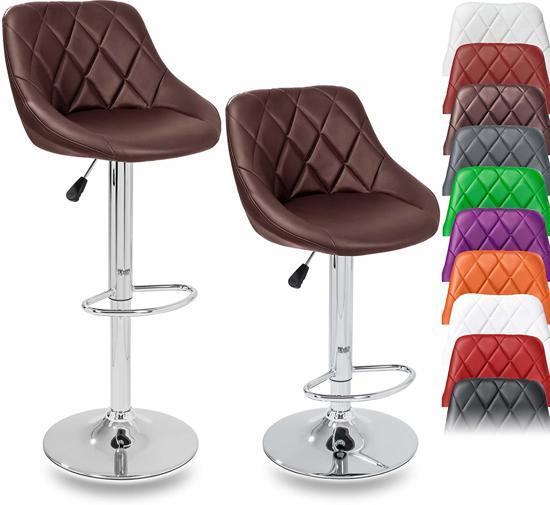 Sens Design Set van 2 - Barkruk Ivy-Jane - Bruin