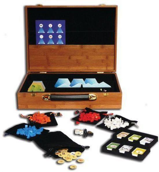 Bordspelbox, voor Kolonisten van Catan, Caramel