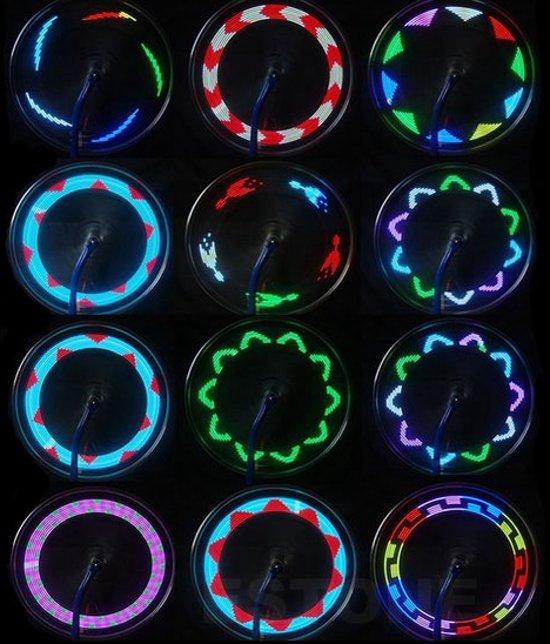 bol.com | LED Fietswiel Spaak Licht Kinderen - Spaakverlichting ...