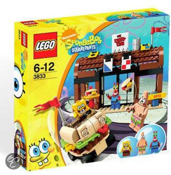 LEGO Spongebob Avonturen in De Krokante Krab - 3833