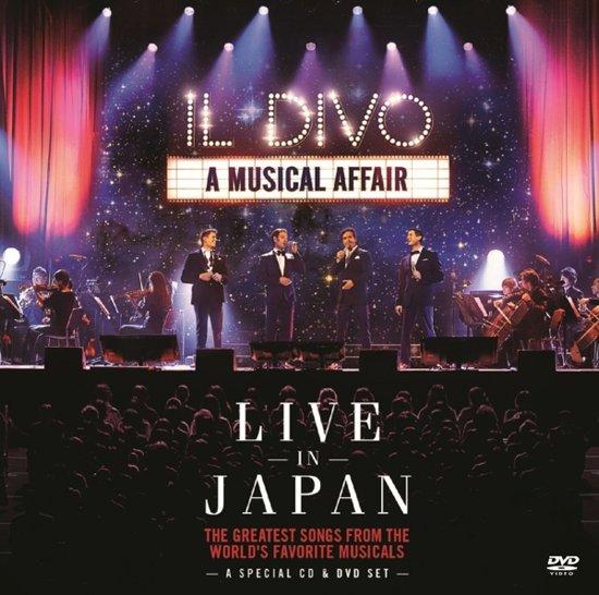 A musical affair live in japan il divo cd for Il divo regresa a mi lyrics