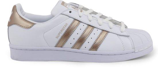 adidas Superstar W Dames Sneakers - Ftwr White/Cyber Met./Ftwr White - Maat  38