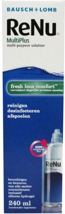 Bausch & Lomb Renu MultiPlus Fresh Lens Comfort - 240m