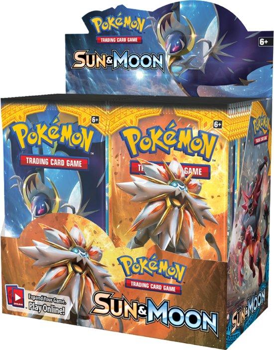 Afbeelding van het spel Sun & Moon Booster Display