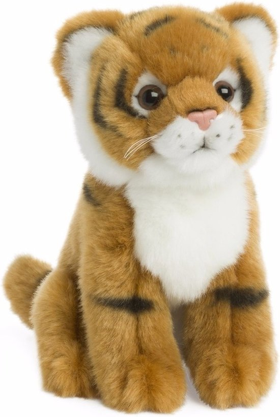 03b9009e761cbd bol.com | WNF pluche tijger knuffel zittend 15 cm - knuffeldier, WNF ...