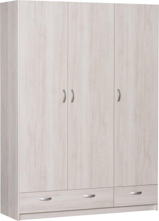 White Wash Hangkast.Bol Com True Furniture Siem 23r Kledingkast White Wash