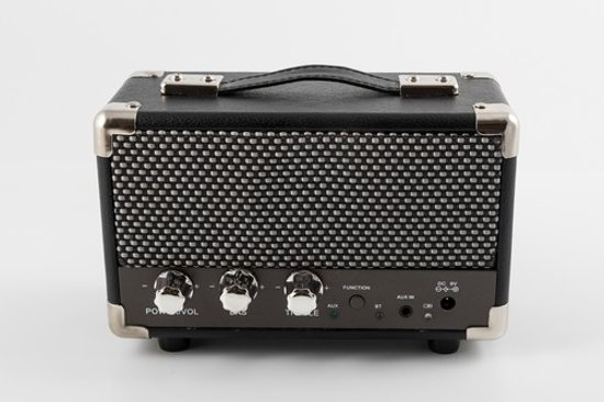 GPO Westwood Mini Bluetooth Speaker Zwart