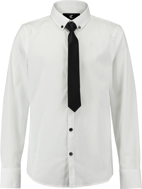 Blouse Of Overhemd.Bol Com Coolcat Blouse Overhemd Hxshirt18 Wit 158 164