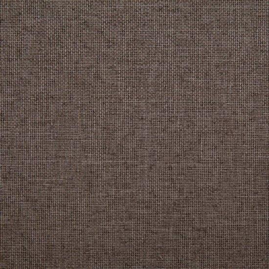 vidaXL Slaapbank polyester taupe