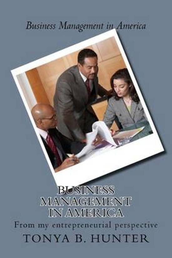 Business Management in America