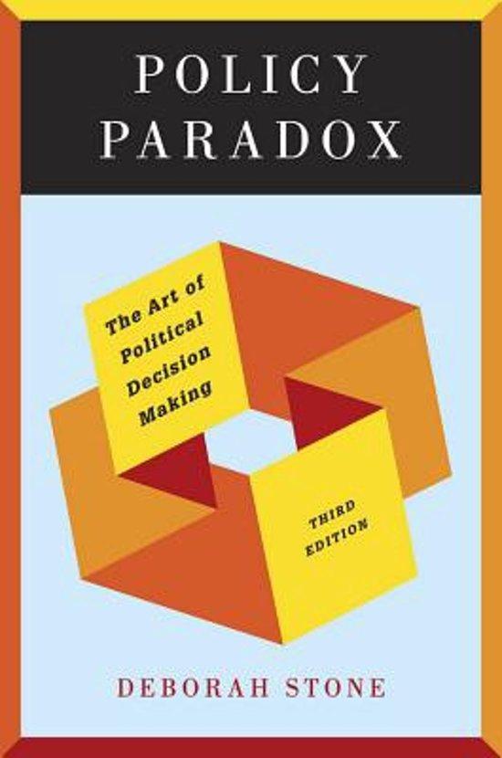 Boek cover Policy Paradox van Deborah Stone (Paperback)