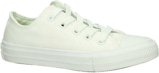 c6d9d2b70b7 Converse - As Ii Ox - Sneaker laag sportief - Meisjes - Maat 35 - Wit