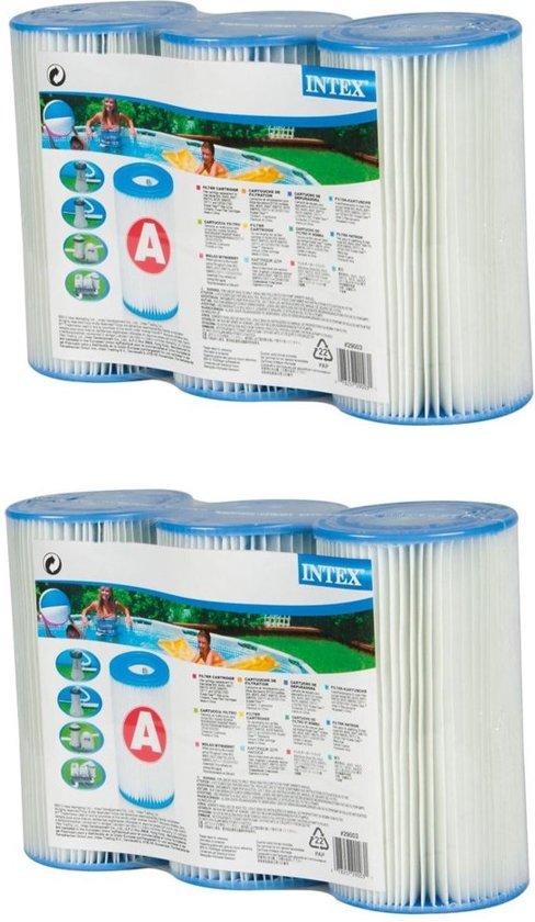 Intex filter cartridge - Type A (dubbel triple pack )