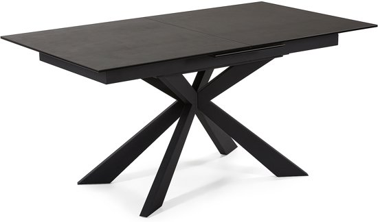 Uitschuifbare Rechthoekige Eettafel.Kave Home Uitschuifbare Rechthoekige Tafel Sterne