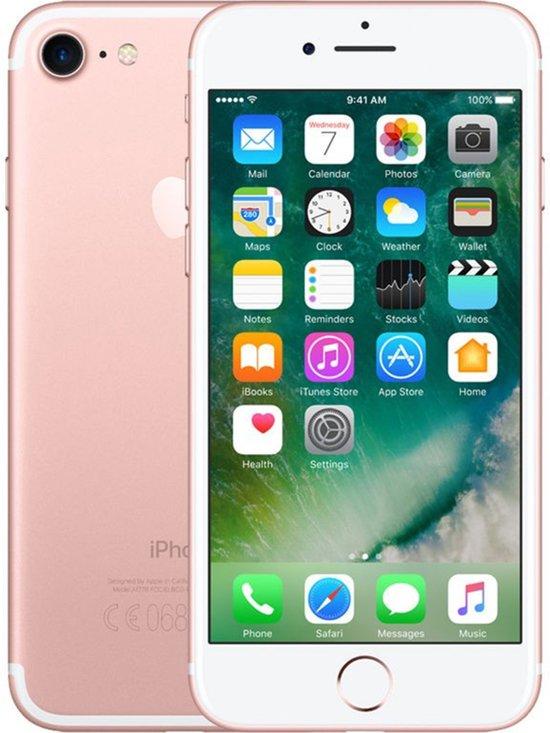 Apple iPhone 7 refurbished door 2nd by Renewd - 128 GB - Roségoud